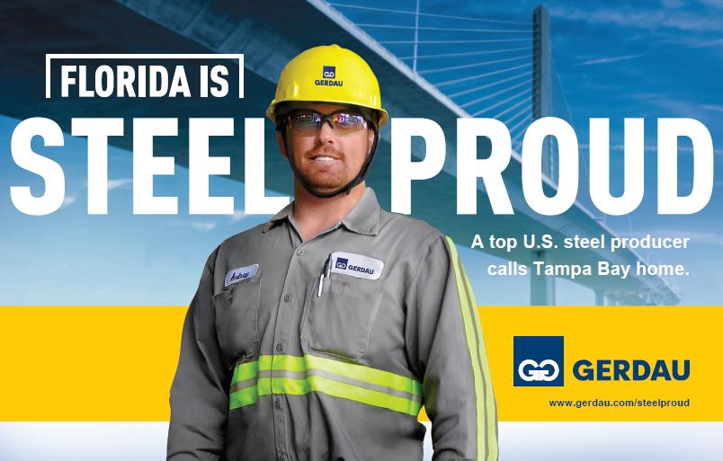 Gerdau Steel Proud cover blog