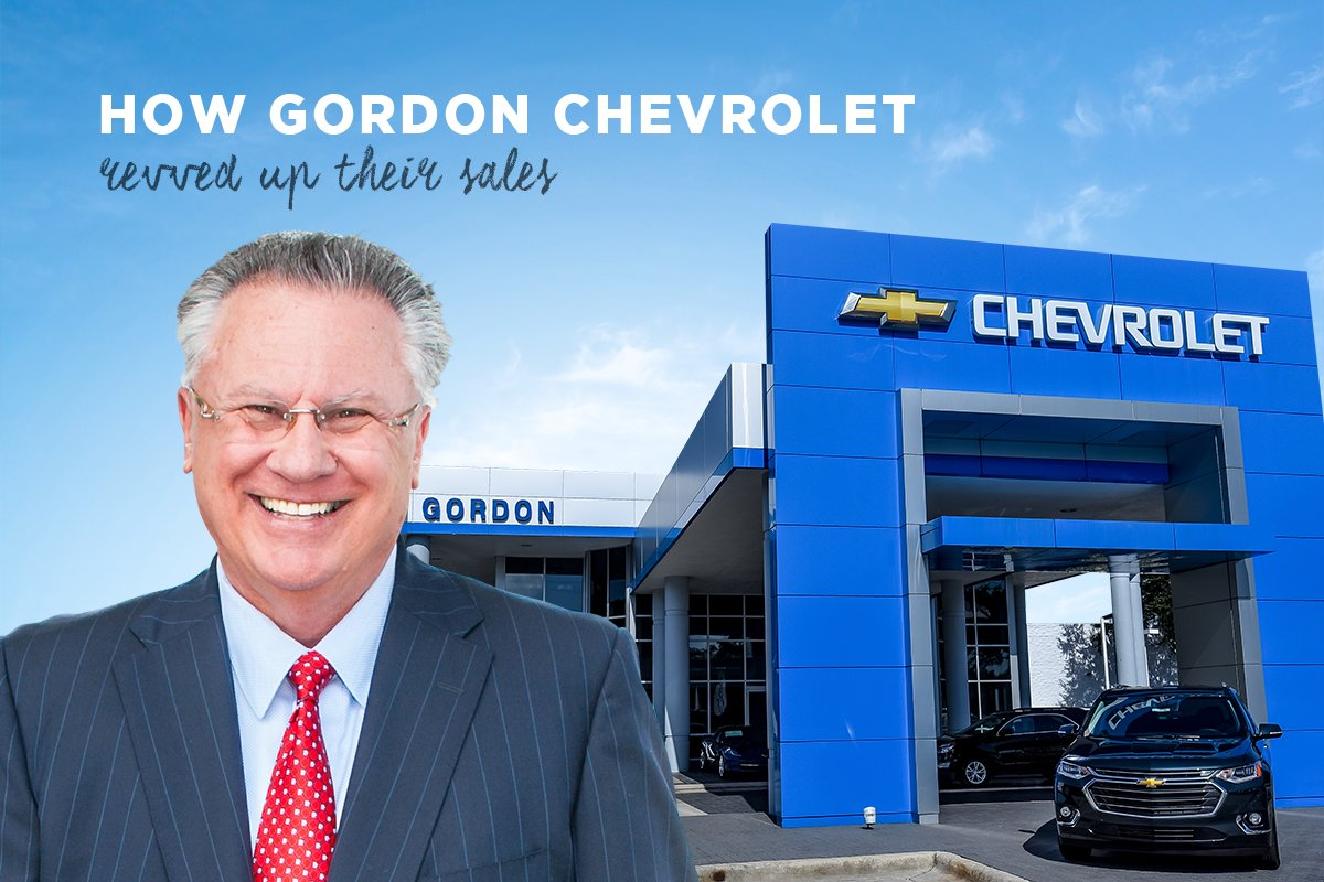 How Schifino Lee Advertising increased sales for Gordon Chevrolet in Tampa, FL