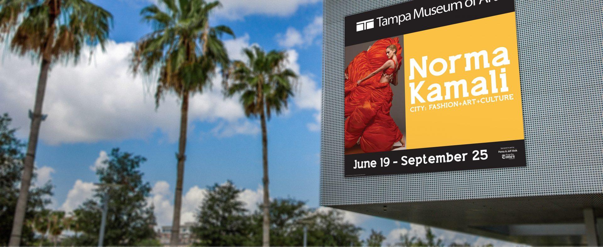 Tampa Museum of Art Branding and Advertising