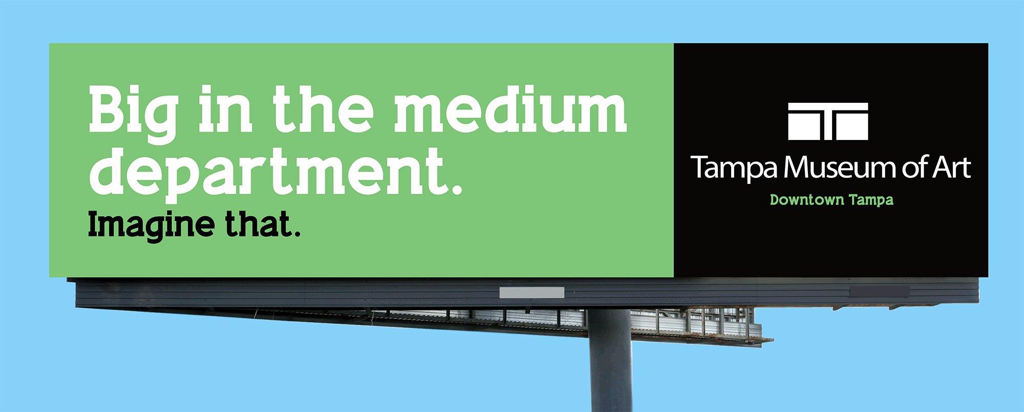 Tampa Museum of Art-Outdoor Billboard