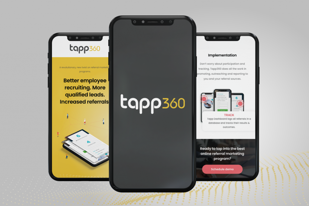 Tapp 360 is a cloud-based software created by Schifino Lee to generate referrals and lead generation.