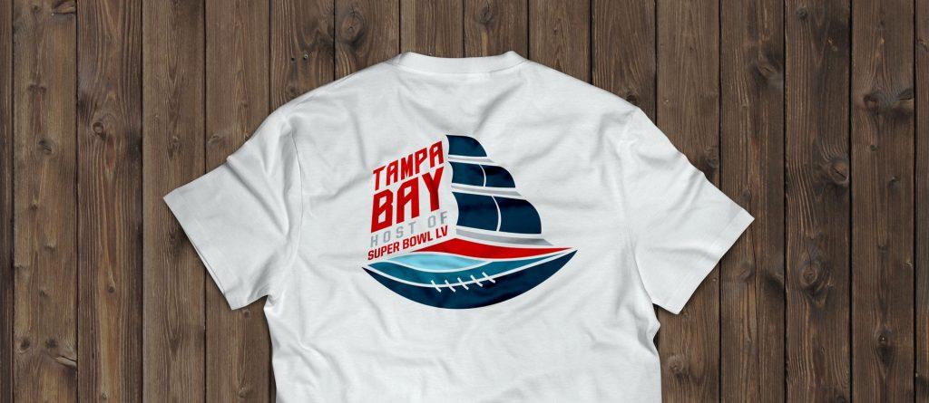 Tampa Florida 2020 Super Bowl Host Committee Logo