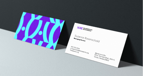 arts council business cards